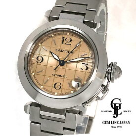 【中古】カルティエ パシャC 2324 ss ボーイズ 自動巻き 腕時計