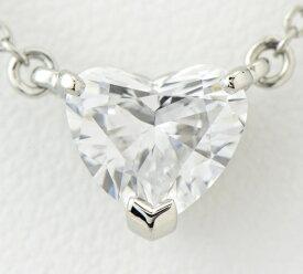 カルティエ ソリテール ハートシェイプ ダイヤモンド1.08ct D-VVS1 ネックレス プラチナ【中古】(2200000175434)
