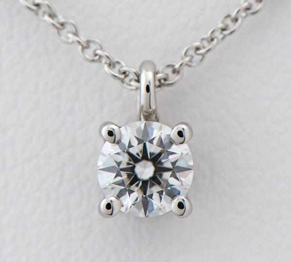 ティファニー スタッド ダイヤモンド0.31ct I-VS1-EX ペンダント・ネックレス プラチナ【中古】(2200000216335)