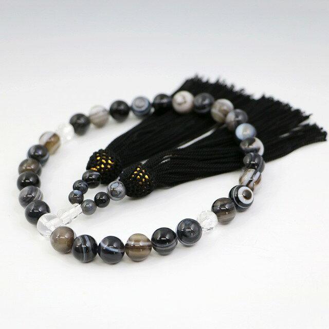 数珠 男女兼用 天眼石の数珠