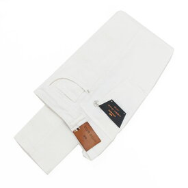 【ポイント5倍】○◎entre amis アントレアミ 5ポケットダメージデニムジーンズパンツ 0100/WHITE メンズ PP18-8177-449L353