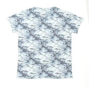 fiver(ファイバー)パターンVネックTシャツカットソー999/BLUEGREY(T60421E7)【メンズ】