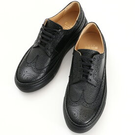 Pantofola d'Oro パントフォラドーロ CLUBHOUSE メダリオンレザースニーカー メンズ BLK/BLACK WEL4