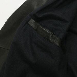 RenzoCenciレンツォチェンチダブルライダースレザージャケットメンズ18春夏NERO/BLACK1415