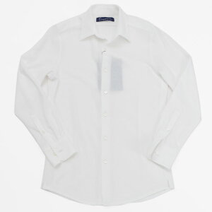 Timoneティモーネ360°ストレッチTCパイルシャツメンズ18春夏WHITENAVYKT042030