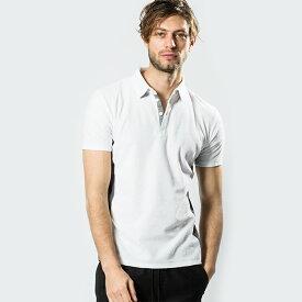 wjk 19sa golfer's polo 7887jd10【 ポロシャツ 迷彩 素材切替 パイル 】【MENS】