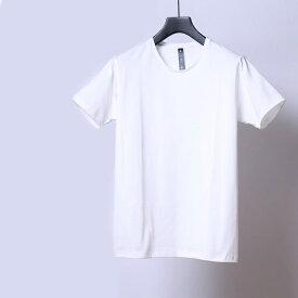wjk simple crew neck cut&sewn 7893lj83【 ギザコットン Tシャツ 】【MENS】