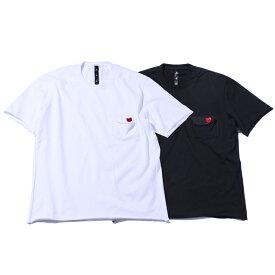 wjk balloon pocket T ショートスリーブバルーンポケットTシャツ カットソー メンズ 21ss 10/white 99/black 7946cj09t