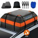 国内発送 ルーフバッグ 収納バッグ 折り畳み 取付簡単 424L 防水 防雨 防雪 防風 アウトドア SUV コンパクト クリーニ…