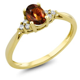 0.72カラット 天然石 ジルコン (ブラウン) 指輪 レディース リング 天然 ダイヤモンド 14金 イエローゴールド K14 ブランド おしゃれ 茶色 ソリティア プレゼント 女性 彼女 妻 誕生日 母の日