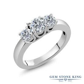 1カラット 天然 ダイヤモンド 指輪 レディース リング シルバー925 ブランド おしゃれ 3連 ダイヤ 小粒 シンプル スリーストーン 天然石 4月 誕生石 プレゼント 女性 彼女 妻 誕生日 母の日