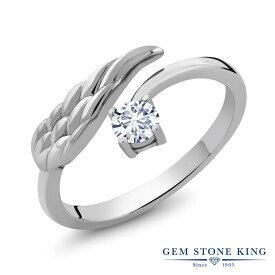 0.27カラット 合成ダイヤモンド 指輪 レディース リング シルバー925 ブランド おしゃれ フェザー 羽 一粒 ダイヤ 小粒 シンプル プレゼント 女性 彼女 妻 誕生日 母の日