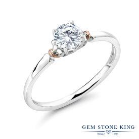 0.5カラット 合成ダイヤモンド 指輪 レディース リング &10金 ピンクゴールド K10 シルバー925 ブランド おしゃれ 一粒 ダイヤ 小粒 シンプル 細身 ソリティア 婚約指輪 エンゲージリング 母の日