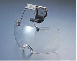 トーヨーセフティ製品 ヘルメット取付けタイプ 保護メガネ No.1400-C 防じん・紫外線しゃ光用 【送料1100円】【代引不可】【他メーカー品同梱不可】