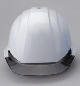 ひさし透明ヘルメット No.370F-OTシリーズ ヘルメット(工事用・現場用) TOYO トーヨーセフティ製 受注生産品(納期約1週間)【送料1100円】【代引不可】【他メーカー品同梱不可】