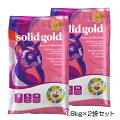 【PET】【2袋セット】【正規品】ソリッドゴールドカッツフラッケン(全年齢猫用)1.8kg×2袋セット【T】
