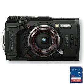 OLYMPUS オリンパス TG-6 工一郎 工事写真用デジタルカメラ 簡単CALS搭載 防塵防水 有効1200万画素 SDHCメモリーカード8G付き