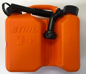 STIHL(スチール) コンビネーション燃料携行缶 3L/1.5L No.00008810124 燃料とチェンオイルのツイン携行缶