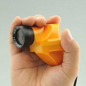 石神井計器製作所 コンパスグラス HB-3Y オレンジ 倍率2.2倍
