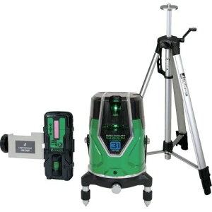 シンワ測定 71613 レーザーロボ グリーンNeo E Sensor 31 受光器・三脚セット レーザー墨出器 JSIMA認定店