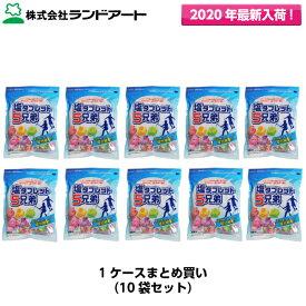 10袋まとめ買い ランドアート 塩タブレット5兄弟 1ケース(530g×10袋入、約1980粒) 2020年最新入荷品 [塩飴塩あめ塩アメ熱中症対策塩分補給]