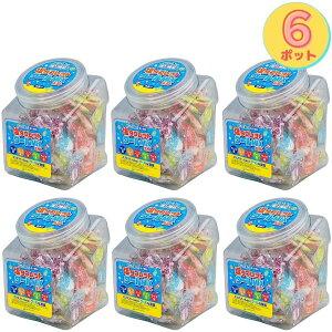 (売り尽くし大特価)6ポットまとめ買い ランドアート クールMIXポット 410g x 6ポット 約900粒 塩飴 熱中症対策 塩タブレット5兄弟 塩分補給 クールミックスポット