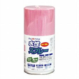 ☆あす楽対応☆  アトムハウスペイント(塗料/ペンキ/ペイント)水性スプレー 100MLパステルピンク