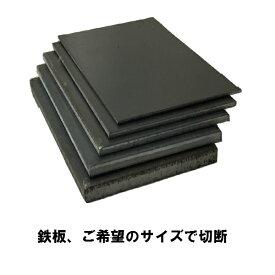 普通鉄板 寸法切り 板厚 1.6mm 御希望の寸法で切断します サイズ 700mm×400mm以下 重量 3.52kg以下