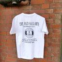 【THE OLD SAILOR'S】ヘンリーネック マリンTシャツ(ユニセックス)