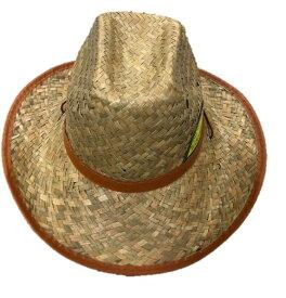【送料無料】麦わら帽子 テンガロンハット ストローハット 帽子 メンズ レディース ユニセックス アウトドア ガーデニング 農作業 海水浴 登山 旅行 つば広 天然い草 スポーツ フリー あごひも付き