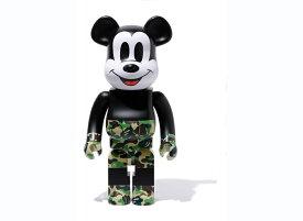 BE@RBRICK BAPE[R] MICKEY MOUSE 1000% [GREEN]A BATHING APE medicom toy