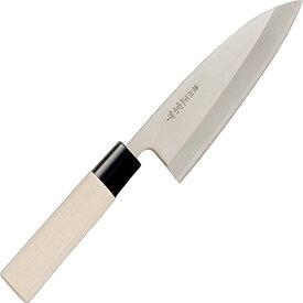 佐竹産業 包丁 出刃包丁 日本製 155mm 濃州正宗作 白木 SEKI001076 300-107