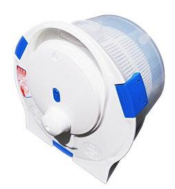 セントアーク(CENTARC) ポータブル洗濯機 ハンドウォッシュスピナー 小型 手動洗濯機 脱水 ホワイト 幅27.4×奥行28.8×高さ21.4cm