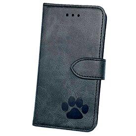 [Amigo Doggos(アミーゴドッゴス)] iPhone 11Pro ケース 日本製 肉球 スムースレザー カードポケット スタンド機能 スマホケース 手帳型ケ