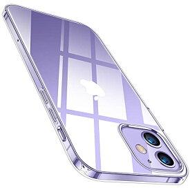 TORRAS 全透明 iPhone 12 mini 用 ケース 薄型 軽量 超耐衝撃 10倍黄変防止 ソフトtpu 画面レンズ保護 5.4インチ アイホン12ミニ用カ