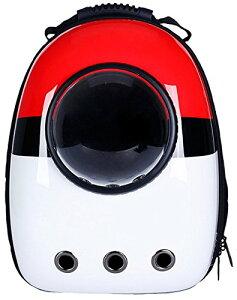 ELINA SEA 犬 猫用 ペット バッグ ペット用キャリーバッグ 宇宙船カプセル型ペットバッグ 犬猫兼用 ペットバッグ ネコ ニャンコ 犬