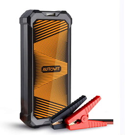 Autowit SuperCap2 Liteジャンプスターター スーパーコンデンサ搭載 バッテリーレス 事前充電不要 高安全性 急速充放電 12V車用エンジンスターター(最大5.0Lガソリン車・3.5Lディーゼル車対応)内蔵式スーパーキャパシタ 低劣化 長寿命 12ヶ月保証