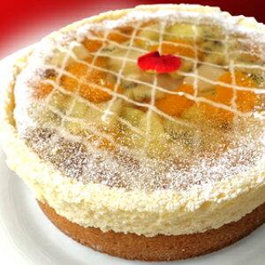 φ17cm ビジュー のケーキ【 エメラルド 】( グレープフルーツ キウイ メロン ) ショートケーキ誕生日 バースデーケーキ ホールケーキ ショートケーキ 【楽ギフ_包装】