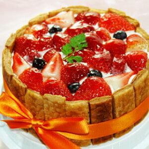 φ15cm ミックスベリー のケーキ( いちご ブルーベリー フランボワーズ ) ショートケーキ苺 誕生日  バースデーケーキ ホールケーキ ショートケーキ イチゴケーキ 誕生日プレゼント バースデ