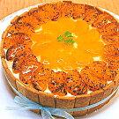 バースデーケーキ☆みかんノショートケーキ直径17cm京都二条寺町ジェニアル謹製生ケーキ白桃ピーチ桃