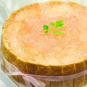 φ17cm 白桃 の ショートケーキバースデーケーキ ホールケーキ 誕生日 桃 もも 【楽ギフ_包装】