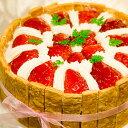 φ15cm 苺 の ショートケーキバースデーケーキ ホールケーキ いちご ストロベリー 【楽ギフ_包装】