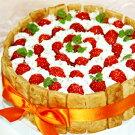 丸ごと苺のケーキ直径17cm☆生ケーキです☆
