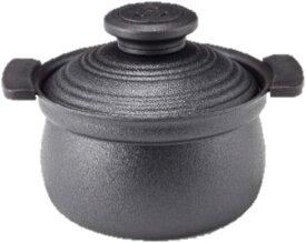 アピデ KUKUNA KITCHEN ククナ 2合炊き アルミ炊飯鍋 ブラック・KKN-RC02BL・6152-016