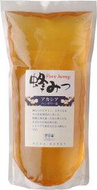 <純粋蜂蜜>世界のはちみつ アカシア1000g袋<ハンガリー産> お得用