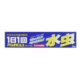 【第2類医薬品】「クリックポスト送料無料」AJD アトレチオンLXクリーム 30g(水虫薬)