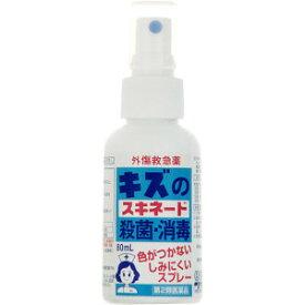 【第2類医薬品】AJD キズのスキネード 殺菌・消毒 80mL(ミストタイプ)