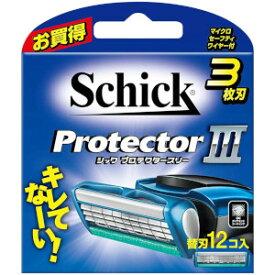 【限定特価】「定形外送料無料」シック プロテクタースリー 替刃12コ入