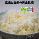 減農薬(佐賀県知事認証)の黄金比率ヘルシー米10kg(5kg×2)【減農薬の発芽玄米30%配合】無洗米/白米も減農薬の無…