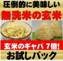 無農薬玄米が原料の発芽玄米玄米/玄氣900g/6合分お試し真空パック【送料無料】無農薬(農薬化学肥料不使用)無洗米の…